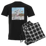 Triple Sock Cow Men's Dark Pajamas