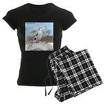 Triple Sock Cow Women's Dark Pajamas