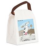 Triple Sock Cow Canvas Lunch Bag