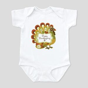 Happy Hanukksgiving Infant Bodysuit