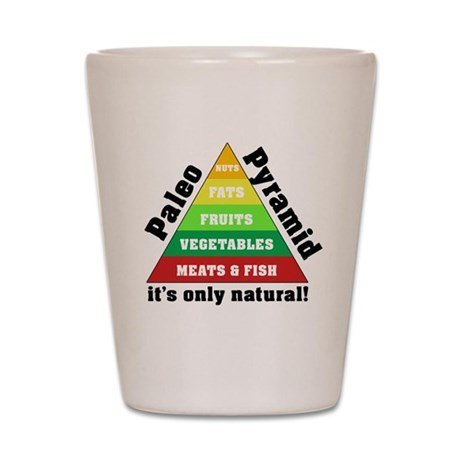 Paleo Pyramid - Natural Shot Glass
