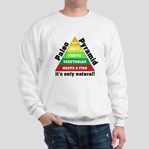Paleo Pyramid - Natural Sweatshirt