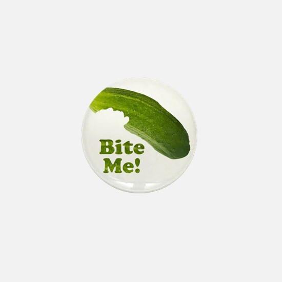 Bite Me! Pickle Mini Button