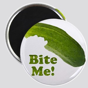 Bite Me! Pickle Magnet