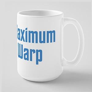 Maximum Warp blue Mugs