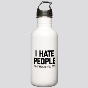 I Hate People That Mea Stainless Water Bottle 1.0L