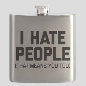 I Hate People That Means You Too Flask