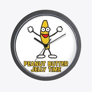 PEANUT_BUTTER_JELLY_TIME Wall Clock