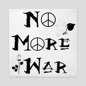 No More War Queen Duvet