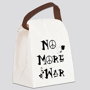 No More War Canvas Lunch Bag