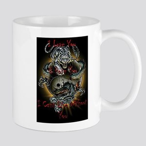 tiger dragon Mugs