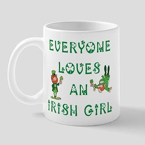 Everyone Loves an Irish Girl Mug
