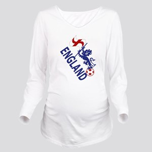 England Football Flag and Lion Long Sleeve Materni