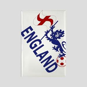 England Football Flag and Lion Magnets