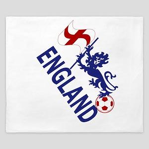 England Football Flag and Lion King Duvet