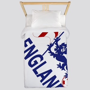 England Football Flag and Lion Twin Duvet