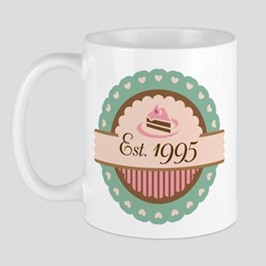 1995 Birth Year Birthday Mug
