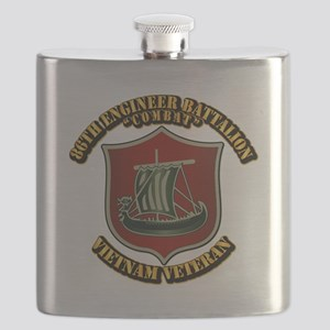 Army - 86th Engineer Battalion (Combat) Flask
