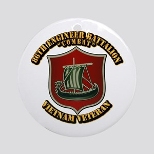 Army - 86th Engineer Battalion (Combat) Ornament (