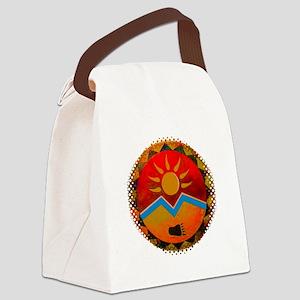 Sun Bear Canvas Lunch Bag