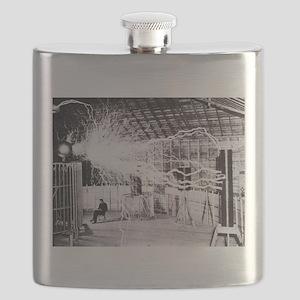 Nikola Tesla Flask