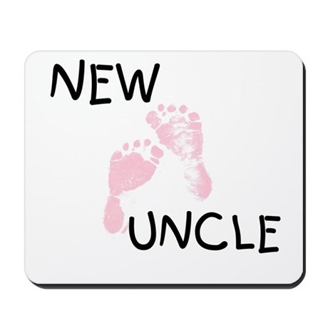 New Uncle (pink) Mousepad