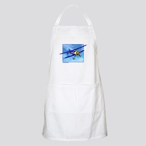 Cute Blue & Yellow Biplane Apron
