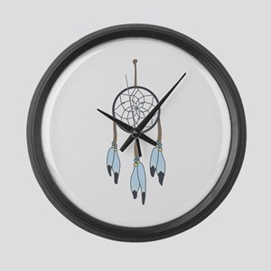 Dream Catcher Large Wall Clock