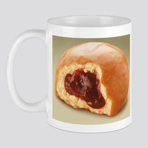 Jelly Donut Coffee Mug great for dunkin