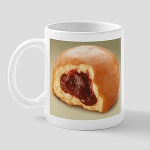 Jelly Donut Coffee Mug great for dunkin