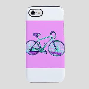 Bike Cycling Bicycle Pink Wond iPhone 7 Tough Case