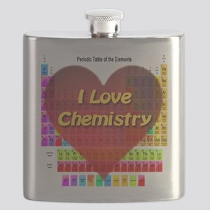 I Love Chemistry Flask