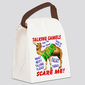 Talking Camels Scare Me Canvas Lunch Bag