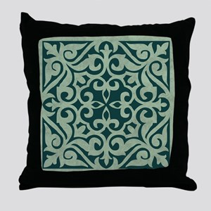 MALACHITE Throw Pillow