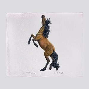 Wild Mustang ~ Throw Blanket (2 Sided)