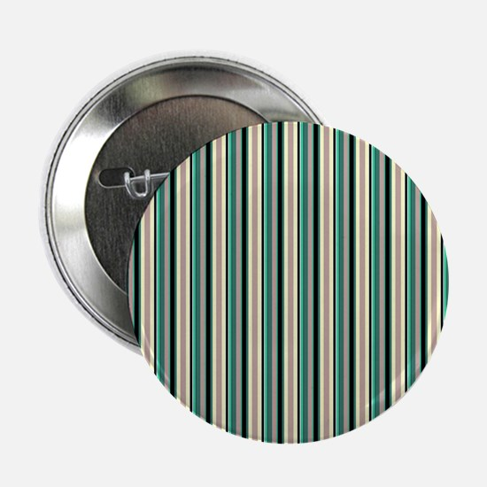 "Green Striped Pattern 2.25"" Button (10 pack)"
