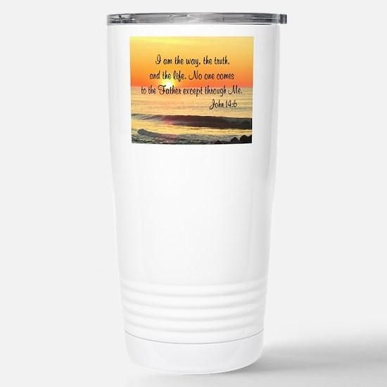 JOHN 14:6 Stainless Steel Travel Mug