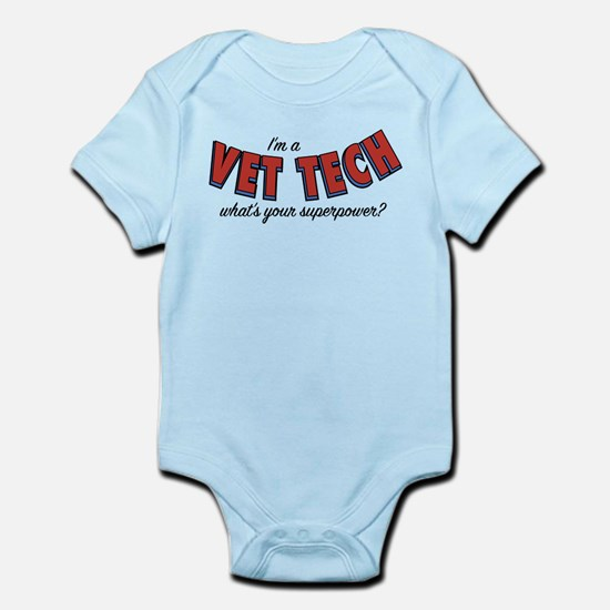 I'm A Vet Tech What's Your Sup Baby Light Bodysuit