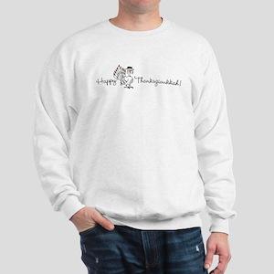 Happy Thanksgivukkah! Sweatshirt