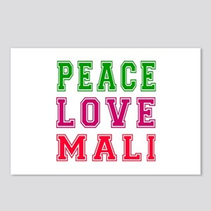 Peace Love Mali Postcards (Package of 8)