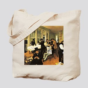 Degas - The Cotton Exchange Tote Bag