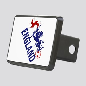 England Football Flag and Lion Hitch Cover