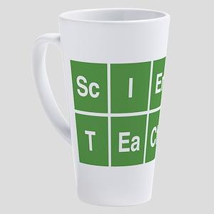 Science Teacher 17 oz Latte Mug