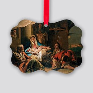 The Adoration of the Shepherds Picture Ornament