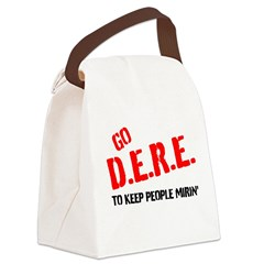 GO DERE Canvas Lunch Bag