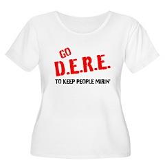 GO DERE Plus Size T-Shirt
