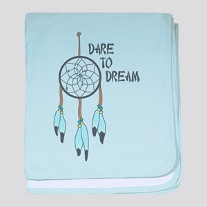 Dare to Dream baby blanket