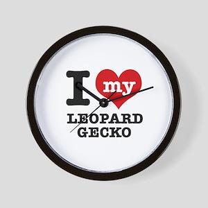 I love my Leopard Wall Clock