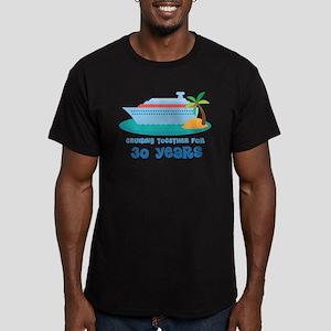 30th Anniversary Cruise Men's Fitted T-Shirt (dark