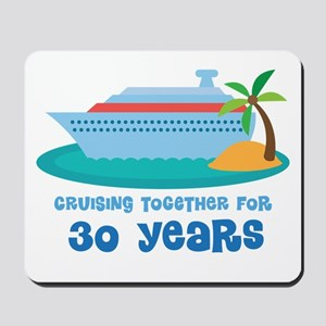 30th Anniversary Cruise Mousepad